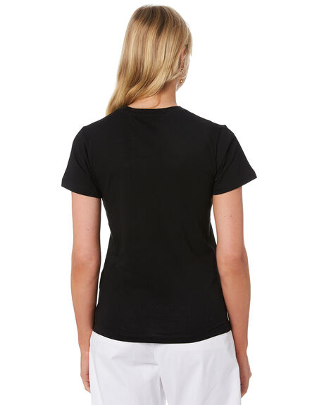 BLACK OUTLET WOMENS CARHARTT TEES - I027837BLK