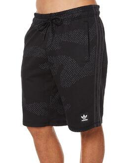 BLACK CARBON MENS CLOTHING ADIDAS ORIGINALS SHORTS - BK8007BLK