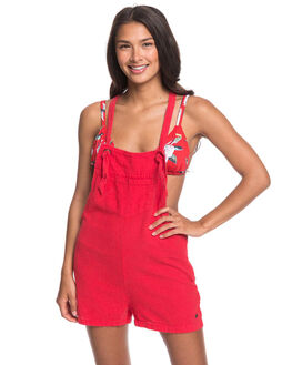 CHINESE RED WOMENS CLOTHING ROXY PLAYSUITS + OVERALLS - ERJWD03406-RQQ0