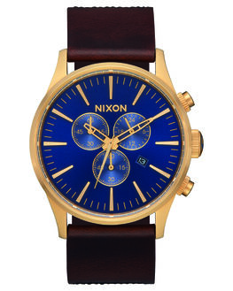 NAVY BROWN BLACK MENS ACCESSORIES NIXON WATCHES - A405-3210NVYBR