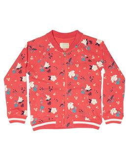 ROUGE RED TROPICOOL KIDS TODDLER GIRLS ROXY JACKETS - ERLFT03135MLJ8