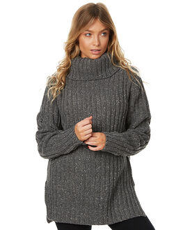 GRAPHITE WOMENS CLOTHING RUSTY KNITS + CARDIGANS - CKL0308GPH