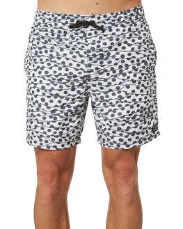 WHITE MENS CLOTHING RVCA BOARDSHORTS - R393406WHT