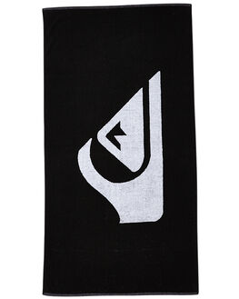 BLACK MENS ACCESSORIES QUIKSILVER TOWELS - EQYAA03108KVJ0