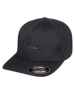 BLACK MENS ACCESSORIES QUIKSILVER HEADWEAR - AQYHA04614-KVJ0