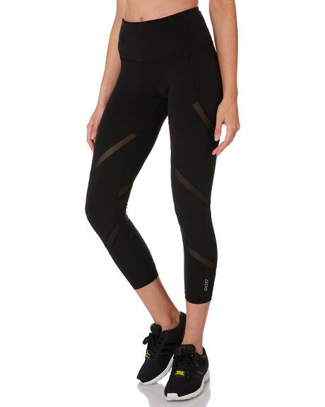 BLACK WOMENS CLOTHING LORNA JANE ACTIVEWEAR - 041928BLK