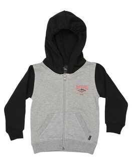 GREY MARLE KIDS BOYS RIP CURL JUMPERS + JACKETS - OFEAZ30085