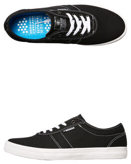 BLACK WHITE MENS FOOTWEAR KUSTOM SNEAKERS - 4976100HBKWH