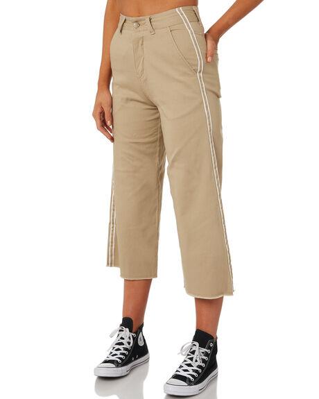 DARK KHAKI WOMENS CLOTHING ELEMENT PANTS - 283241DKHA