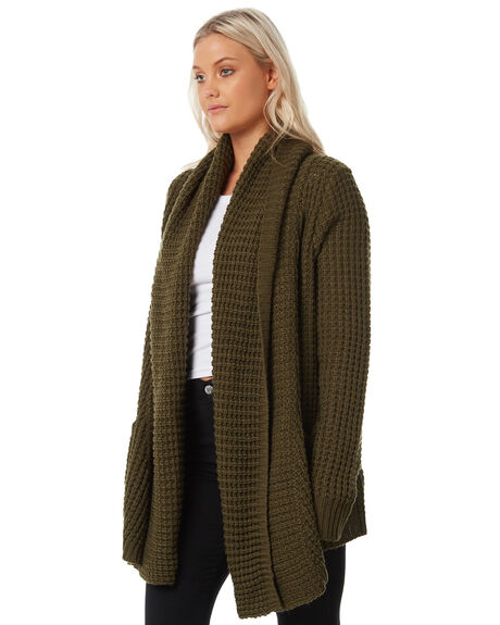 KHAKI OUTLET WOMENS SWELL KNITS + CARDIGANS - S8183146KHAKI