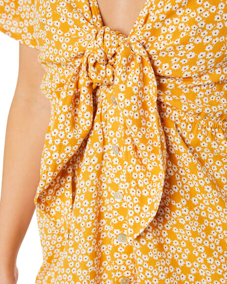 SANDY COVE FLORAL WOMENS CLOTHING THE HIDDEN WAY DRESSES - H8211444SCVFL