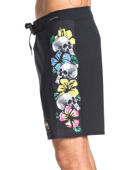 BLACK MENS CLOTHING QUIKSILVER BOARDSHORTS - EQYBS04219-KVJ0