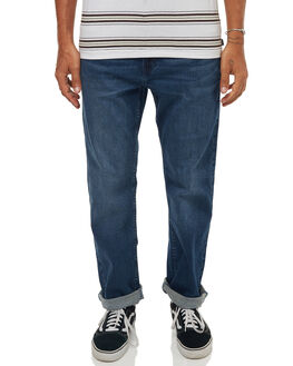 TIDAL BLUE MENS CLOTHING RIP CURL JEANS - CDEDG19422