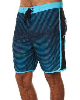CHLORINE BLUE MENS CLOTHING HURLEY BOARDSHORTS - MBS000754047B