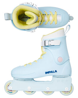 SKY BLUE YELLOW BOARDSPORTS SKATE IMPALA ACCESSORIES - IMPINLINE1SKY