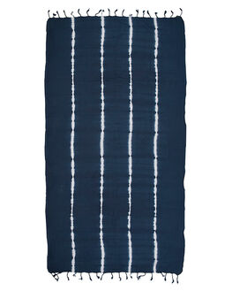 INDIGO WOMENS ACCESSORIES MAYDE TOWELS - 17SALTINDIIND