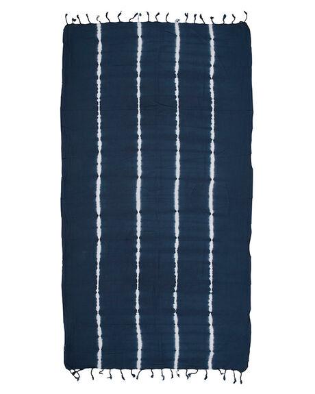 INDIGO WOMENS ACCESSORIES MAYDE TOWELS - 17SALTINDIIND