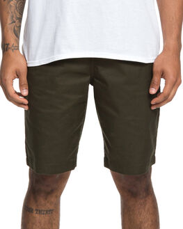 DARK OLIVE MENS CLOTHING DC SHOES SHORTS - EDYWS03111-KRY0