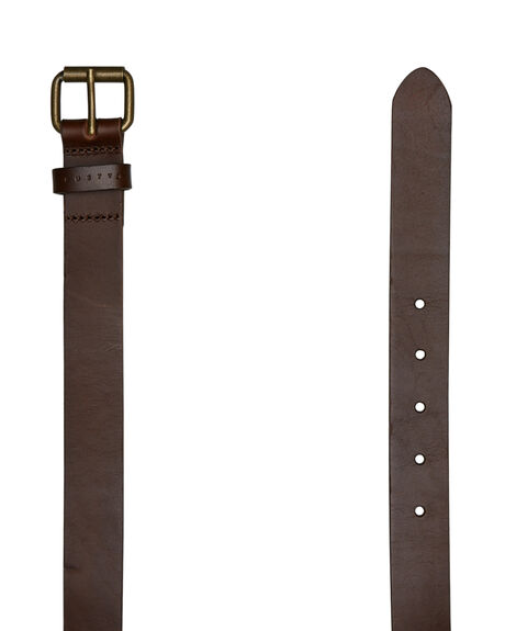 CHOCOLATE MENS ACCESSORIES RUSTY BELTS - BEM0492CHO