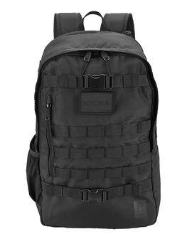 BLACK MENS ACCESSORIES NIXON BAGS + BACKPACKS - C2904000