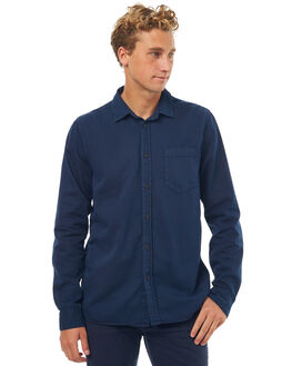 MIDNIGHT MENS CLOTHING NUDIE JEANS CO SHIRTS - 140501B97