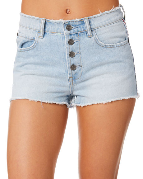 LIGHT WASH OUTLET WOMENS ELEMENT SHORTS - 283361LWAS