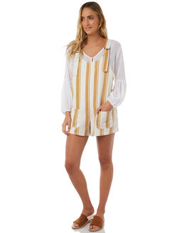 ALMOND WOMENS CLOTHING BILLABONG PLAYSUITS + OVERALLS - 6585505ALMD