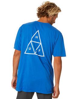 NEBULAS BLUE MENS CLOTHING HUF TEES - TS00509-NEBB