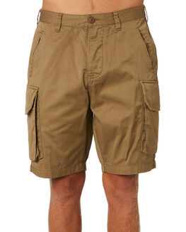 TOBACCO MENS CLOTHING DEUS EX MACHINA SHORTS - DMP83111TOB
