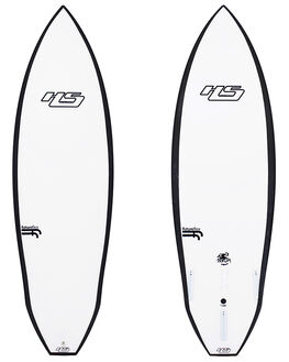 WHITE BLACK BOARDSPORTS SURF HAYDENSHAPES SURFBOARDS - HSMERLOTFFWHTBK