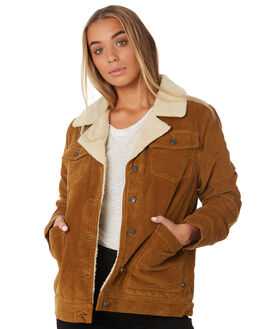 CAMEL WOMENS CLOTHING RUSTY JACKETS - JKL0378CAM