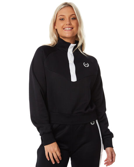 BLACK WOMENS CLOTHING RUSTY JUMPERS - FTL0666BLK