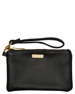 BLACK WOMENS ACCESSORIES RUSTY PURSES + WALLETS - WAL0760BLK