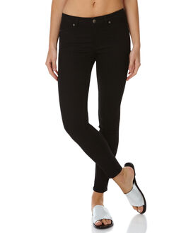 BLACK WOMENS CLOTHING CHEAP MONDAY JEANS - 0264957BLK
