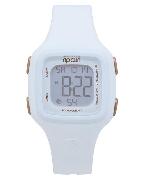 WHITE WOMENS ACCESSORIES RIP CURL WATCHES - A3126G1000