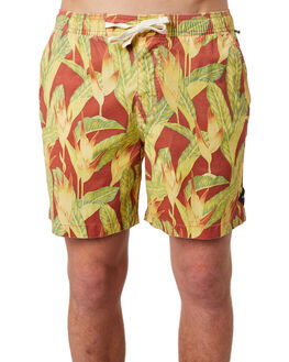 RED CENTRE MENS CLOTHING THE CRITICAL SLIDE SOCIETY BOARDSHORTS - BS1846RED
