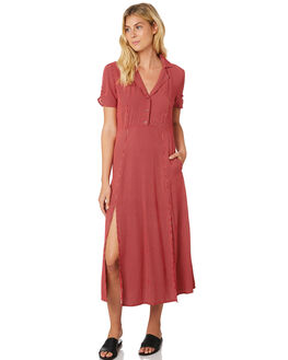 RED OUTLET WOMENS THE HIDDEN WAY DRESSES - H8189443RED