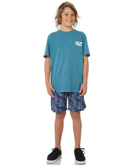 NAVY BLUE KIDS BOYS RUSTY BOARDSHORTS - BSB0340NVB