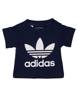 COLLEGIATE MULTI KIDS TODDLER BOYS ADIDAS ORIGINALS TEES - D96099CNVWH