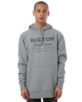 GRAY HEATHER MENS CLOTHING BURTON JUMPERS - 178881020