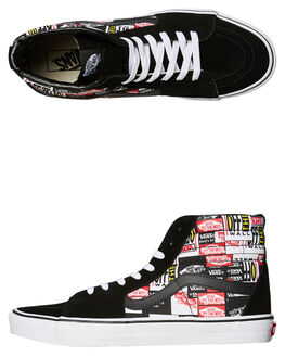 BLACK MENS FOOTWEAR VANS SNEAKERS - VNA4BV6V9A