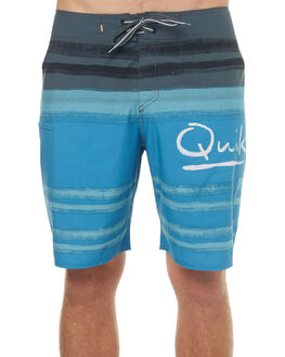 CENDRE BLUE MENS CLOTHING QUIKSILVER BOARDSHORTS - EQMBS03027BLL0