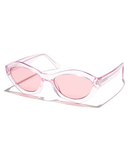 PINK PINK WOMENS ACCESSORIES QUAY EYEWEAR SUNGLASSES - QC-000212PNK