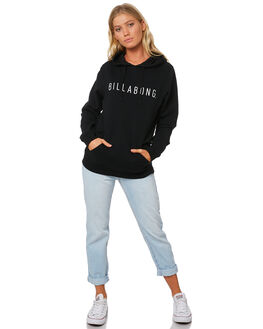 BLACK WOMENS CLOTHING BILLABONG JUMPERS - 6595746BLK