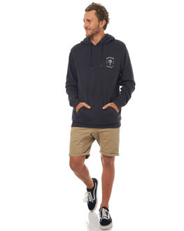 WASHED BLACK MENS CLOTHING RIP CURL JUMPERS - CFEKW18264