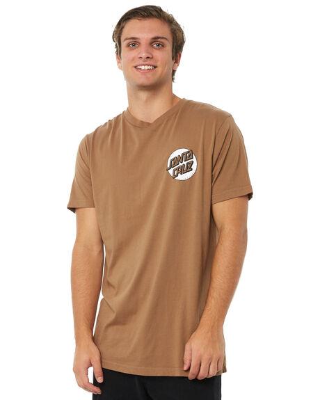 DARK SAND MENS CLOTHING SANTA CRUZ TEES - SC-MTA8820DSND