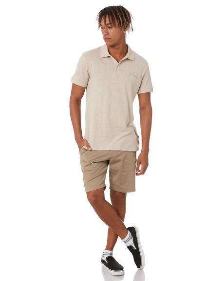BEIGE FOG MENS CLOTHING RUSTY SHIRTS - PLM0321BEF
