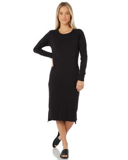 BLACK WOMENS CLOTHING SWELL DRESSES - S8172477BLACK