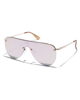 ROSE GOLD WOMENS ACCESSORIES LE SPECS SUNGLASSES - 1702049RSGLD
