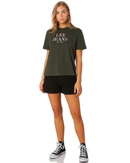EMERALD WOMENS CLOTHING LEE TEES - L-651886-510EMER